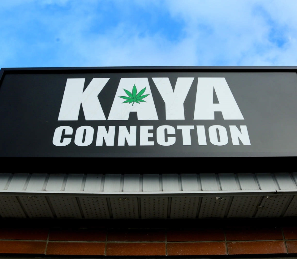 Kaya Connection storefront sign
